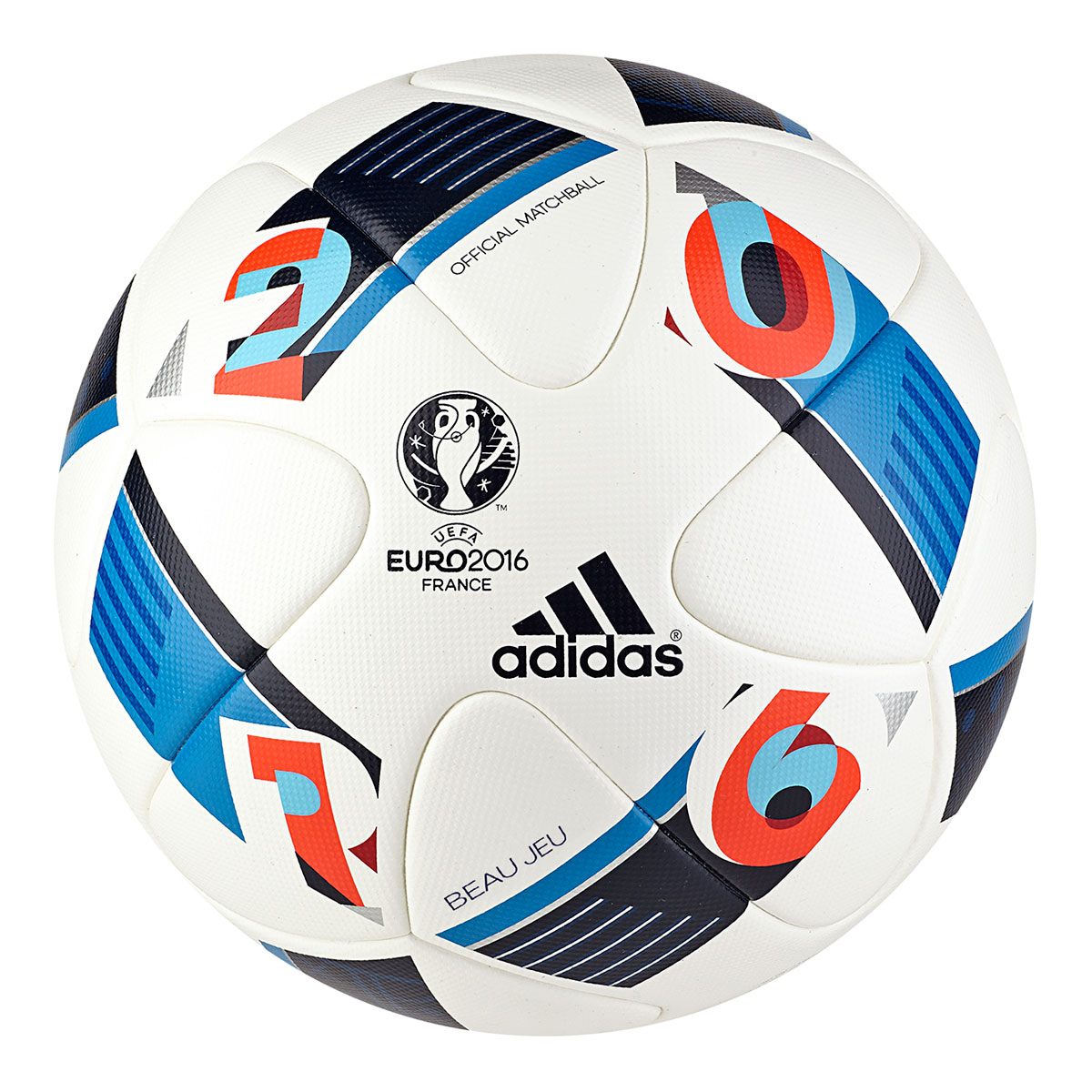 591d75aa1b3 Adidas Euro 2016 Voetbal - Ballen - Accessoires - Voetbal ...