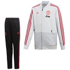 Adidas Manchester United Pre Trainingspak Junior 18/19
