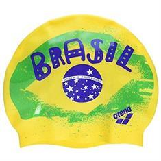 Arena Print 2 Flag-Brasil Badmuts