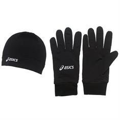 Asics Beanie + gloves
