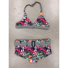 Bomain Bright Flower Triangle Bikini Junior