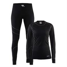 Craft Baselayer Set Dames (shirt+broek)
