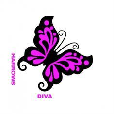 harrows Diva Dark Flight 6011