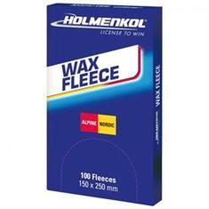 Holmenkol Wax Fleece 100 Stück