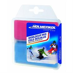 Holmenkol Worldcup Mix Cold Red-Blue 2 x 35g
