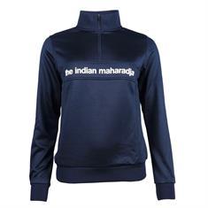 INDIAN MAHARADJA Poly Terry Half Zip