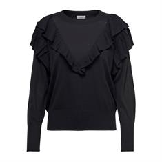 Jacqueline de Yong Anry Frill Pullover