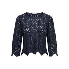 Jacqueline de Yong Cole 3/4 Cropped Pullover