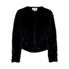 Jacqueline de Yong Even Fake Fur Jacket