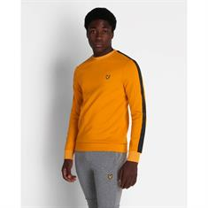 LYLE&SCOTT Sleeve Tape Crew Sweater