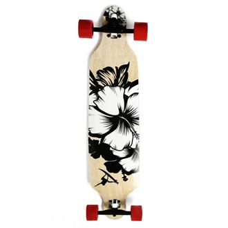 Maple Leaf Longboard Flowersurf 38''