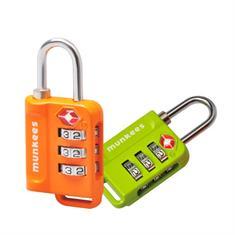munkees TSA Combination Lock