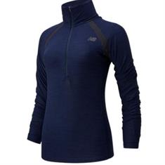 New Balance Sport Spacedye Half Zip Longsleeve Shirt