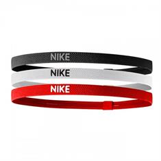 Nike equipment Elastic Hairbands 3-pack
