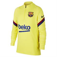 Nike Fc Barcelona Dry Strike Drill Top Junior