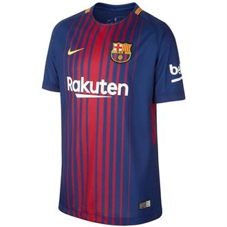 Nike Fc Barcelona Shirt Home 2017/2018 Junior