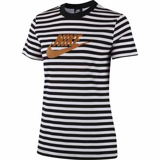 Nike T-shirt Animal Stripe Print