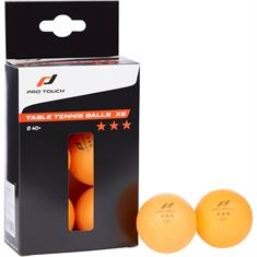 Pro Touch Tafeltennisballen 3 Star (6-pack)