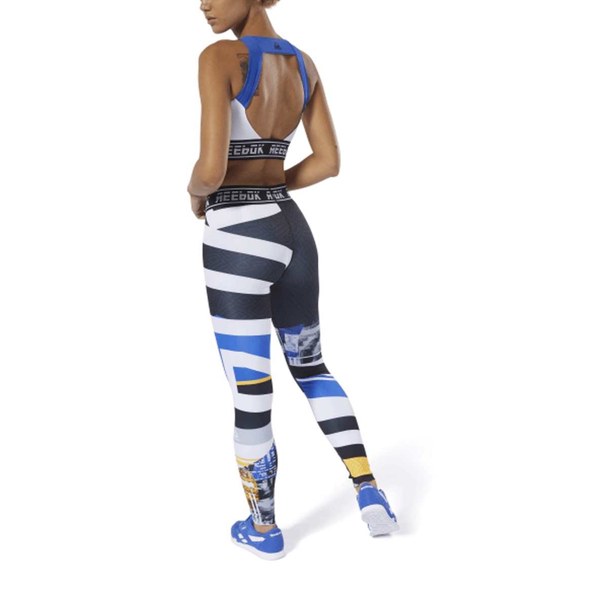 6e305bcf5de Reebok Work Out Engineered Tight - Fitness broeken - Fitnesskleding ...