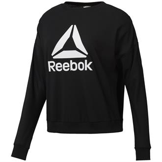 Reebok Work Out Mesh Crew Neck Sweater