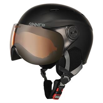 Sinner Poley Visor Ski Helm Junior