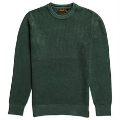 Superdry Academy Dyed Textured Crew Trui