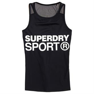 Superdry Active Mesh Panel Singlet