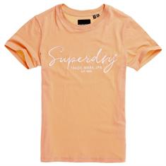 Superdry Alice Script Emb Entry Shirt