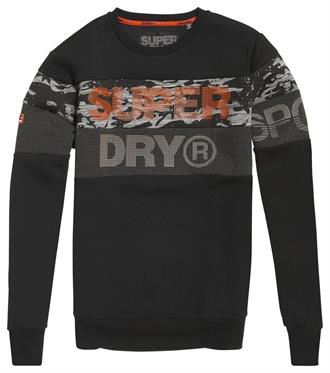 Superdry Gym Tech Cut Crew Sweater