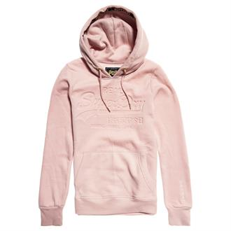 Superdry Logo Pastel Deboss Entry Hooded