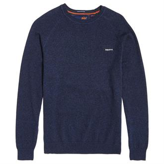 Superdry Orange Label Cotton Crew Pullover