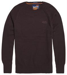 Superdry Orange Label Cotton Crew Trui