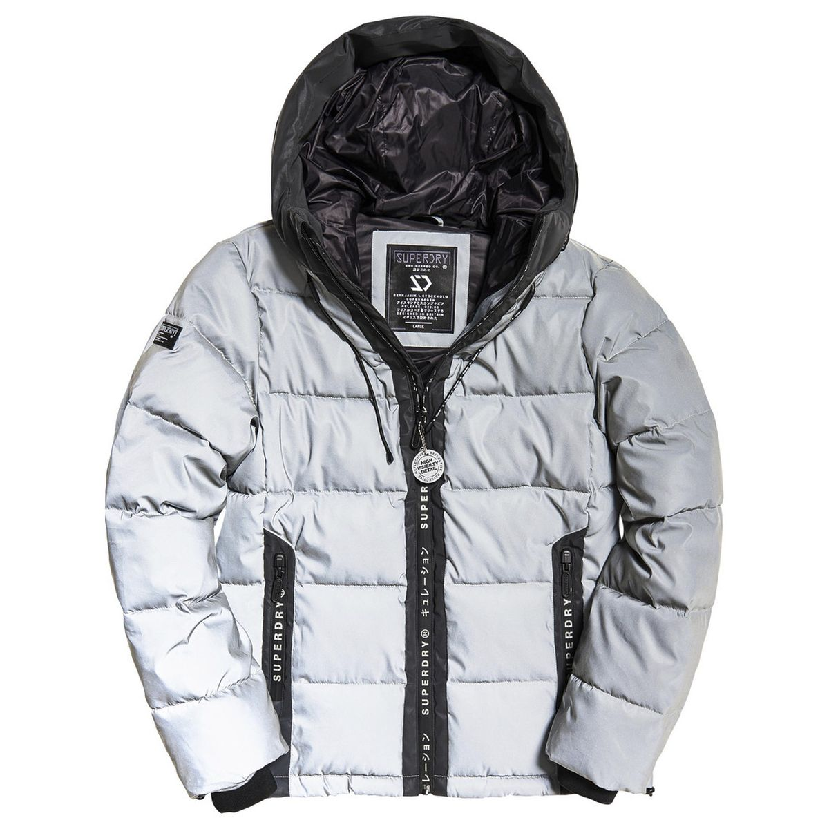 Superdry Reflector Padded Jas