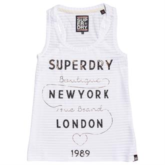 Superdry True Brand Stripe Entry Singlet
