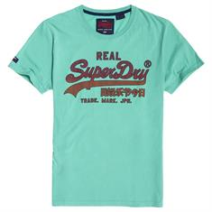 Superdry Vintage Logo Fade Mid Weight Shirt
